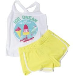 Abbigliamento Unisex bambino Completo Champion Completo Bambina Beach Canotta Giallo