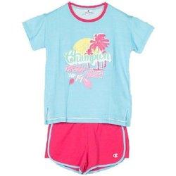 Abbigliamento Unisex bambino Completo Champion Completo Bambina Beach T-shirt Azzurro