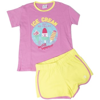 Abbigliamento Unisex bambino Completo Champion Completo Bambina Beach T-shirt Rosa