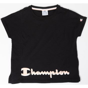 Abbigliamento Bambina T-shirt maniche corte Champion T-shirt Bambina American Classic Nero