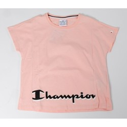 Abbigliamento Bambina T-shirt maniche corte Champion T-shirt Bambina American Classic Rosa