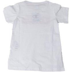 Abbigliamento Bambina T-shirt maniche corte Champion T-shirt Ragazza American Classic Bianco