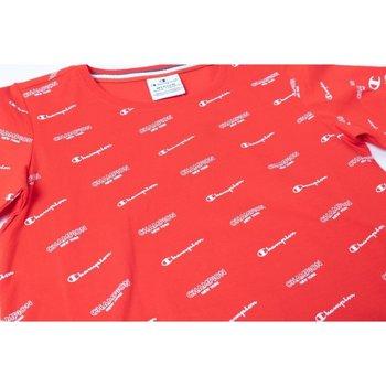 Abbigliamento Bambina T-shirt maniche corte Champion T-shirt Ragazza American Classic Fantasia