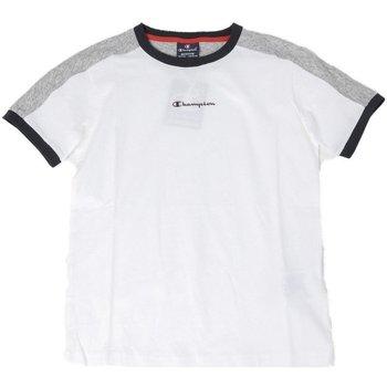 Abbigliamento Unisex bambino T-shirt maniche corte Champion T-shirt Bambino Mezza Manica Bianco