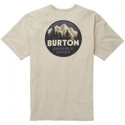 Abbigliamento Uomo T-shirt maniche corte Burton T-Shirt Uomo Taproot Beige