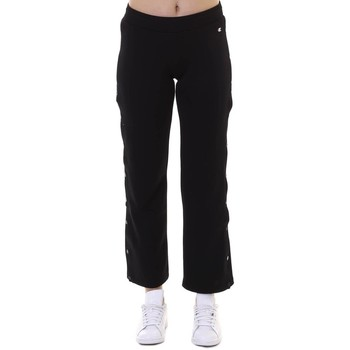 Abbigliamento Donna Pantaloni da tuta Champion Pantalone Donna Con Bottoni Nero