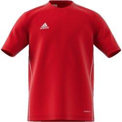 Abbigliamento Bambino T-shirt maniche corte adidas Originals T-Shirt Junior Core Training 18 BTS Rosso
