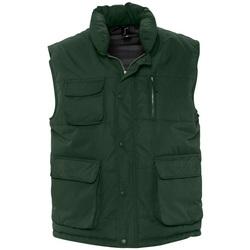 Abbigliamento Gilet / Cardigan Sols VIPER QUALITY WORK Verde