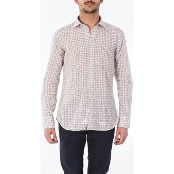 Abbigliamento Uomo Camicie maniche lunghe Tintoria Mattei T3L/TYB/FR1 Camicia Uomo Uomo Bianco Bianco