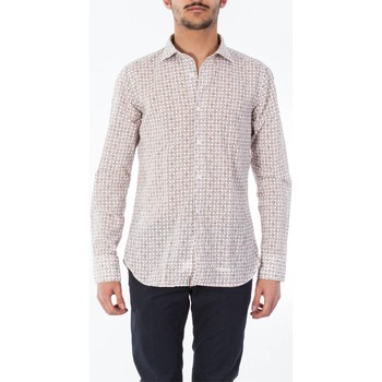 Abbigliamento Uomo Camicie maniche lunghe Tintoria Mattei T3L/TYB/FR1 Bianco