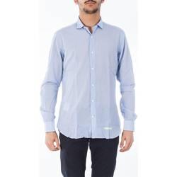 Abbigliamento Uomo Camicie maniche lunghe Tintoria Mattei T0Z/N0A/FE1 Camicia Uomo Uomo Fantasia Fantasia
