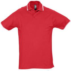 Abbigliamento Uomo Polo maniche corte Sols PRACTICE GOLF SPORT Rojo