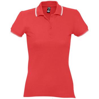 Abbigliamento Donna Polo maniche corte Sols PRACTICE GOLF SPORT Rojo
