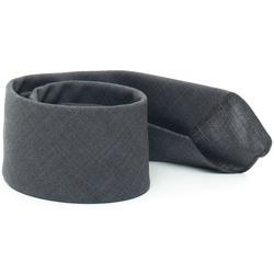 Abbigliamento Uomo Cravatte e accessori Hugo Boss Cravatta Grigio Lana vergine Uomo grigio