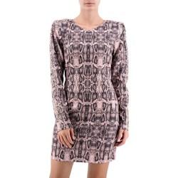 Abbigliamento Donna Abiti corti Aniye By   Tubino Snake, Rosa   ANI_181005 01914 Rosa