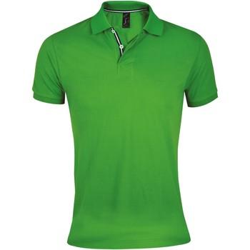 Abbigliamento Uomo Polo maniche corte Sols PATRIOT FASHION MEN Verde