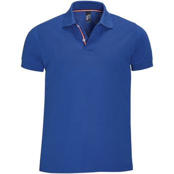 Abbigliamento Uomo Polo maniche corte Sols PATRIOT FASHION MEN Azul