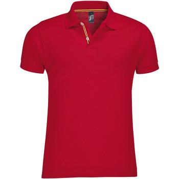 Abbigliamento Uomo Polo maniche corte Sols PATRIOT FASHION MEN Rojo