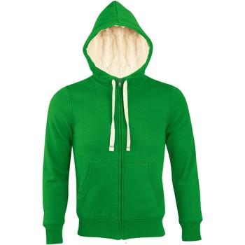 Abbigliamento Uomo Felpe Sols SHERPA WINTER MEN Verde
