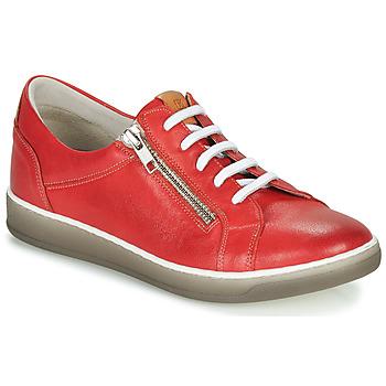 Scarpe Donna Sneakers basse Dorking KAREN Rosso / Beige