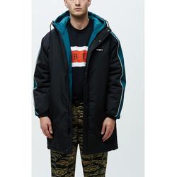 Abbigliamento Uomo giacca a vento Obey Major stadium jacket Nero