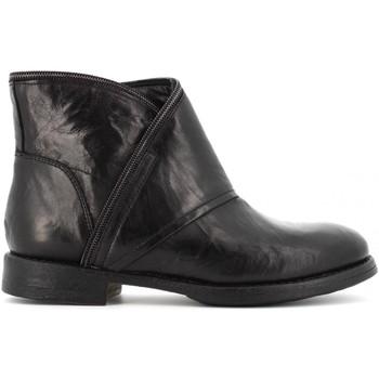 Scarpe Donna Stivaletti Creative scarpe donna stivaletti 10813 NERO Pelle