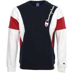 Abbigliamento Uomo Felpe Champion Crewneck Sweatshirt Blu