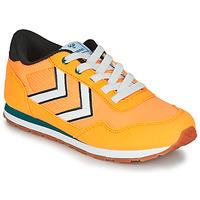 Scarpe Unisex bambino Sneakers basse Hummel REFLEX JR Giallo