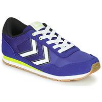 Scarpe Unisex bambino Sneakers basse Hummel REFLEX JR Blu