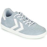 Scarpe Unisex bambino Sneakers basse Hummel VICTORY JR Grigio