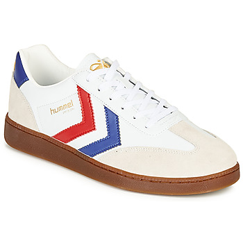 Scarpe Uomo Sneakers basse Hummel VM78 CPH LEATHER Bianco / Rosso / Blu