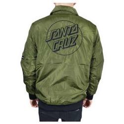 Abbigliamento Uomo Giubbotti Santa Cruz Giacca Squad Jacket - Military Green Verde