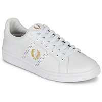 Scarpe Uomo Sneakers basse Fred Perry B721 LEATHER Bianco