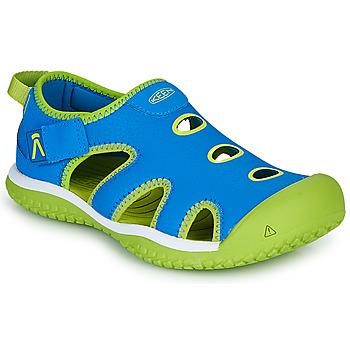 Scarpe Unisex bambino Sandali sport Keen STINGRAY Blu / Verde