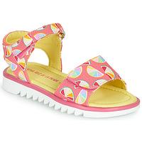 Scarpe Bambina Sandali Agatha Ruiz de la Prada SMILES Rosa / Multicolore