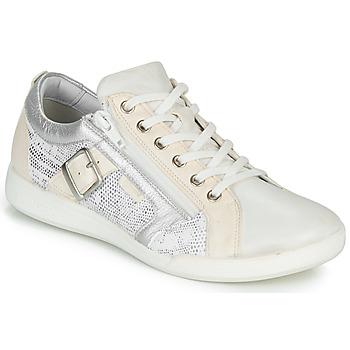 Scarpe Donna Sneakers basse Pataugas PAULINE/S Bianco / Argento
