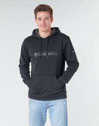 Abbigliamento Uomo Felpe Columbia CSC BASIC LOGO HOODIE Nero