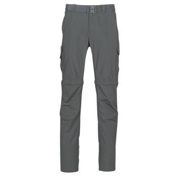Abbigliamento Uomo Pantalone Cargo Columbia SILVER RIDGE II CONVERTI Grigio