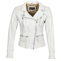 Abbigliamento Donna Giacca in cuoio / simil cuoio Oakwood CAMERA Bianco