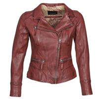 Abbigliamento Donna Giacca in cuoio / simil cuoio Oakwood CAMERA Rosso