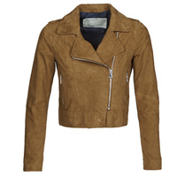 Abbigliamento Donna Giacca in cuoio / simil cuoio Oakwood PHOEBE Cognac / Suede
