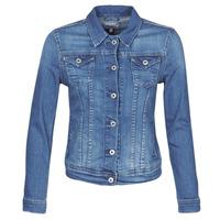 Abbigliamento Donna Giacche in jeans Pepe jeans THRIFT Blu / Medium / Hb6