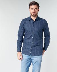 Abbigliamento Uomo Camicie maniche lunghe Pepe jeans ADAN Marine