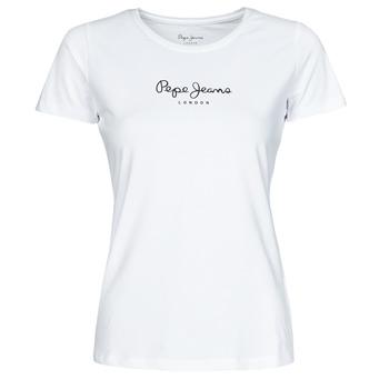 Abbigliamento Donna T-shirt maniche corte Pepe jeans NEW VIRGINIA Bianco