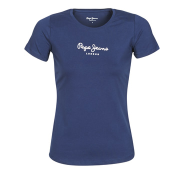 Abbigliamento Donna T-shirt maniche corte Pepe jeans NEW VIRGINIA Marine