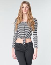 Abbigliamento Donna Top / Blusa Pepe jeans FALBALA Nero