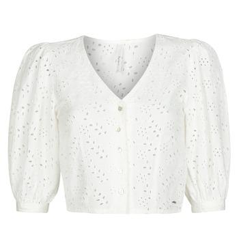 Abbigliamento Donna Top / Blusa Pepe jeans CLAUDIE Bianco