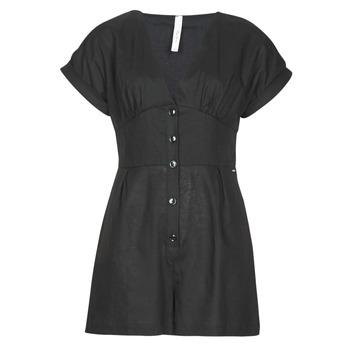 Abbigliamento Donna Tuta jumpsuit / Salopette Pepe jeans SHERGIA Nero