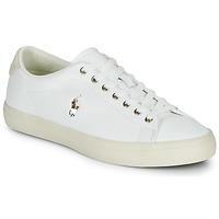 Scarpe Uomo Sneakers basse Polo Ralph Lauren LONGWOOD-SNEAKERS-VULC Bianco