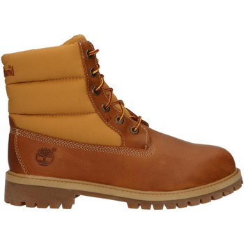 Scarpe Unisex bambino Stivaletti Timberland A1I2Z 6 IN QUILT Marr?n